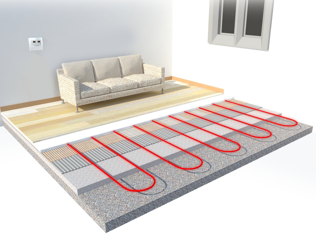 Floor heating raon system english - How do heated bathroom floors work ...